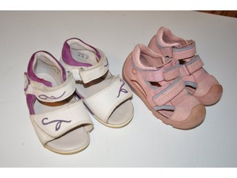 Barnskor paket st 23 , två par sandaller ELEFANTEN - åmål - Barnskor paket st 23 , två par sandaller ELEFANTEN - åmål