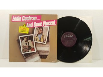Eddie Cochran And Gene Vincent - Their Finest Years: 56 & 58