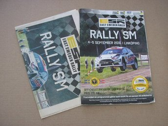Rally Program SM East Sweden Rally 4-5/9 2015