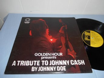 Tribute To Johnny Cash by Johnny Doe LP Golden Hour