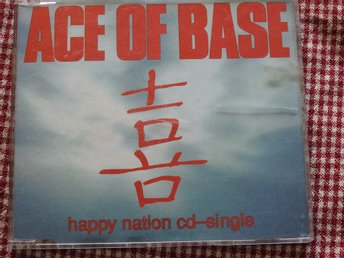 Ace of Base -  Happy Nation CD Single 1993