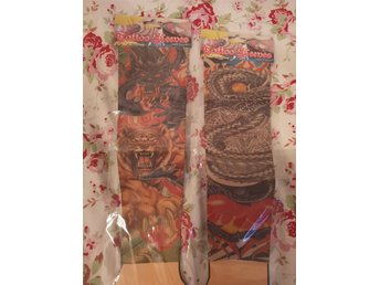 Tattoo sleeves, 2 st olika