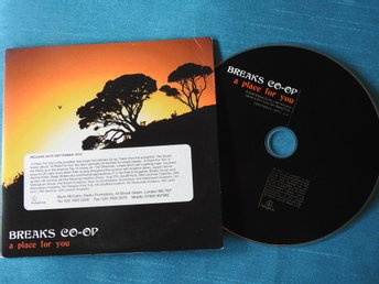 Breaks Co-Op - A Place For You PROMO CD Singel (Pappfodral)