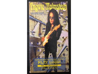 Yngwie Malmsteen Play Loud! The first movement (the Basics) instructional VHS 95