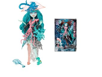 Vandala Doubloons - The Ghost Pirate - HAUNTED - Monster High docka