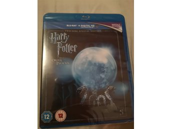 Harry Potter 5 order of the phoenix - bluray. Helt ny! Inplastad.