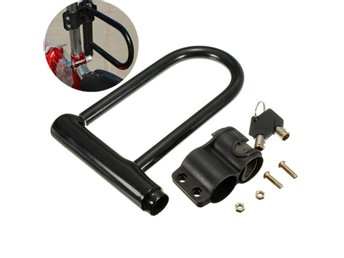 Universal Motor Bike U Shaped Security Anti Theft Lock Wi...