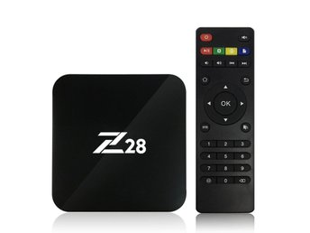 Z28 Android 7.1 TV Box RK3328 Quad Core 64Bit 2G + 16G