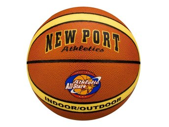 New Port basketboll i laminerat PVC-läder 16GF