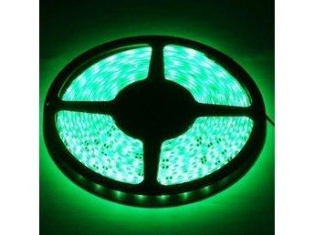 Ljusslinga 5 meter grön, vattentät - 60 LED / meter ledstrip - Kode - Ljusslinga 5 meter grön, vattentät - 60 LED / meter ledstrip - Kode