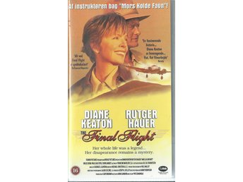 FINAL FLIGHT-DIANE KEATON/RUTGER H (DANSK TEXT!-VHS FILM !!)