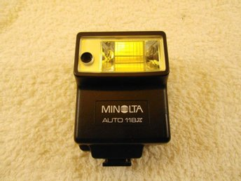 #### BLIXT MINOLTA AUTO 118X RETRO, MINT CONDITION ####
