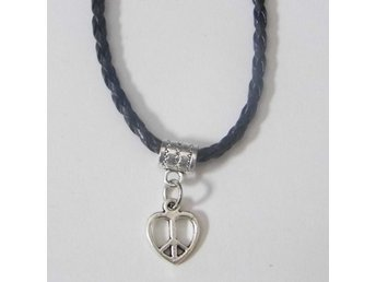 Fred hjärta halsband / Peace heart necklace