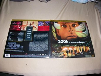 2001: a space odyssey - Deluxe letterbox edition - 1st laserdisc - Säffle - 2001: a space odyssey - Deluxe letterbox edition - 1st laserdisc - Säffle