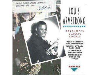 "LOUIS ARMSTRONG   ""SATCHO´S CLASSIC VOCALS"" CD"