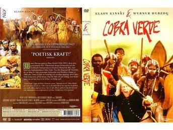 Cobra Verde – 1987 – Klaus Kinski – Regissör: Werner Herzog – UTGÅTT - Malmö - Cobra Verde – 1987 – Klaus Kinski – Regissör: Werner Herzog – UTGÅTT - Malmö