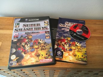 Super Smash Bros Melee Nintendo Gamecube Fightning Komplett PAL