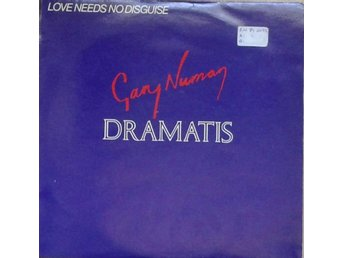 "Gary Numan / Dramatis title* Love Needs No Disguise* Synth-pop 12"" UK"