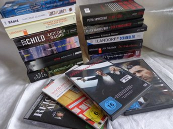 Tyska,Böcker,Dvd,Nesbö,Lee Child,Braveheart,Petra Hammersfahr