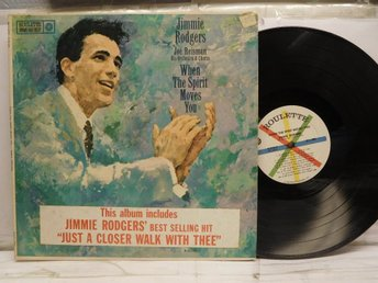 JIMMIE RODGERS - WHEN THE SPIRIT MOVES YOU