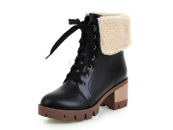 Dam Boots In Cold Winter Boots For Women Footwears Black 36