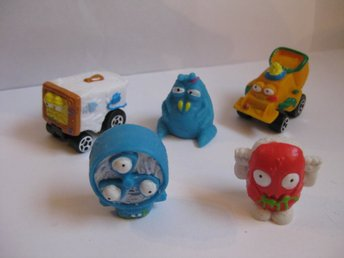 Leksaker Figurer Trash Pack Trashpacks - 5st  Trashies / Trash wheels  nr 149