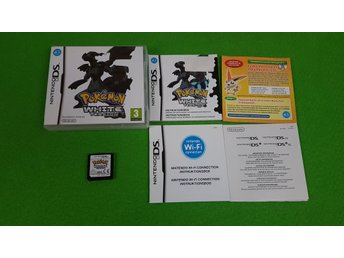 Pokemon White Version SVENSK Nintendo DS