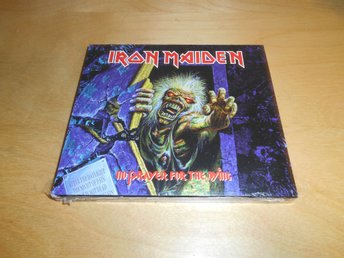 CD - Iron Maiden - inplastad USA PROMO - NO PRAYER FOR THE DYING