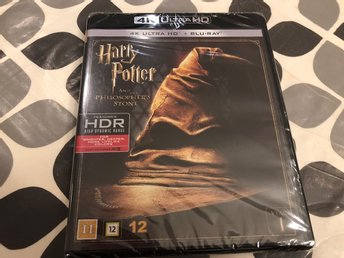 HARRY POTTER AND THE PHILOSOPHER'S STONE (4K Ultra HD + blu-ray) Ny!