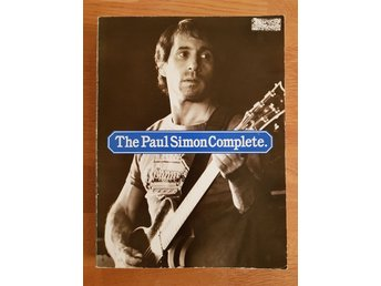 Musikhäfte noter: the Paul Simon complete