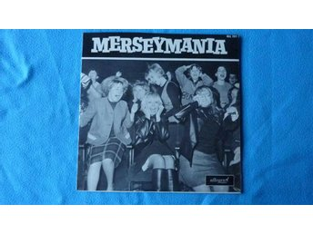 "LP BILLY PEPPER AND THE PEPPERPOTS - ""MERSEYMANIA"" - 1964"