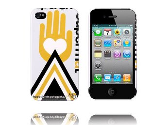 Free City (Gul Hand) iPhone 4/4S Skal