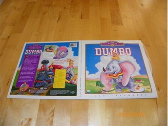 Dumbo - CAV Laserdisc Walt Disney masterpiece collection 2LD