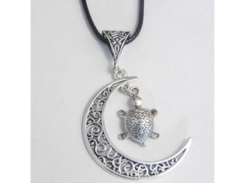 Sköldpadda måne halsband / Turtle moon necklace