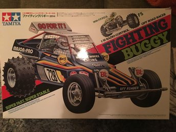Tamiya fighting buggy (re-re) rc bil
