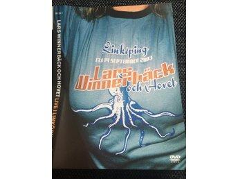 """LARS WINNERBÄCK OCH HOVET """"Live i Linköping """" (2003) 181 minuter - Jönköping - LARS WINNERBÄCK OCH HOVET """"Live i Linköping """" (2003) 181 minuter - Jönköping"""