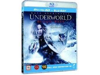 Underworld Blood Wars 3D + Blu-ray -  - Ny & inplastad!