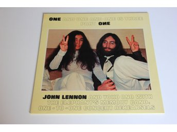 John Lennon And Yoko Ono* With The Elephant's Memory Band* ‎– One And One And On