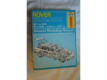 ROVER 2300 & 2600 SD1 1977-79 Haynes Workshop Manual