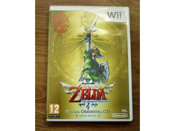 The Legend of Zelda Skyward Sword - Limited Edition till Nintendo Wii