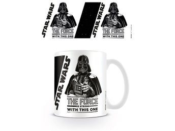 Star Wars - The Force is Strong with this one - Mugg