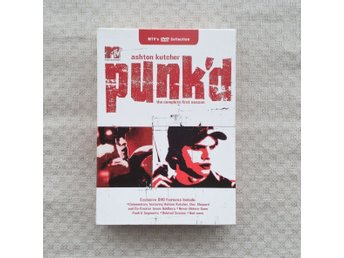 MTV Ashton Kutcher DVD - Punk´d - Season 1 - Region 1 (USA) - Toppskick!