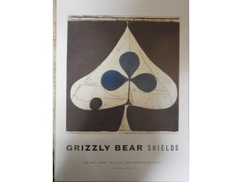 Poster Grizzly Bear Shields