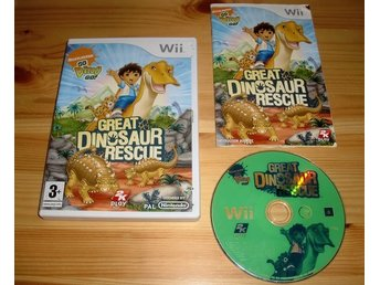 Wii: Great Dinosaur Rescue