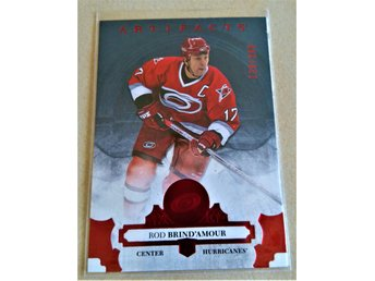 2017-18 UD Artifacts Ruby #150 Rod Brind'Amour /299
