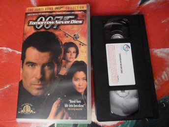 007, TOMORROW NEVER DIES, ACTION, VHS, FILM, 114 MIN.