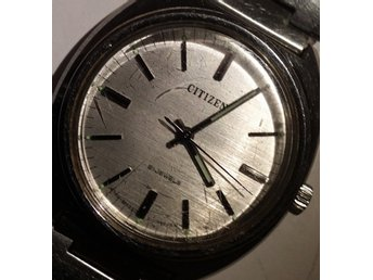 Vintage Citizen 21 Jewels, Mekaniskt manuelt Japansk herrklocka DM: 38mm .