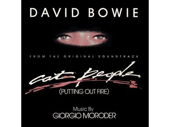 "David Bowie 12"" Music By  Giorgio Moroder – Cat People / -Label misprint-"