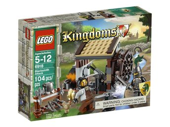 LEGO Kingdoms 6918 Blacksmith Attack - Ny