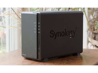 Synology DiskStation DS216Play - 2-diskars NAS med bra Mediafunktioner, 4K.. etc